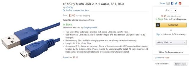 Poorly Optimized Amazon Product