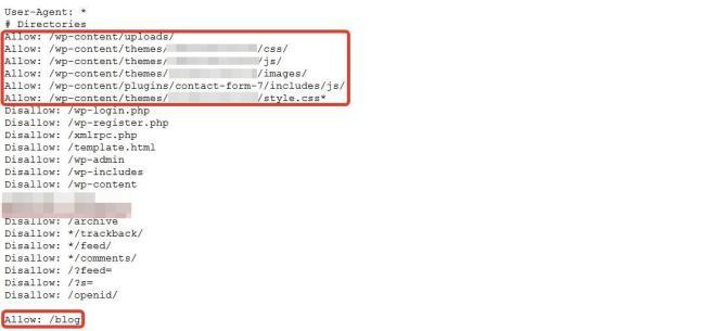 Priorizando páginas com allowed no robots.txt