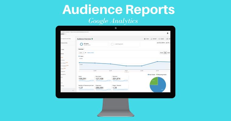 تقرير جمهور جوجل التحليلات