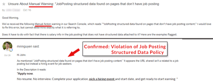 Structured Data Google Penalties – 5 Mistakes to Avoid