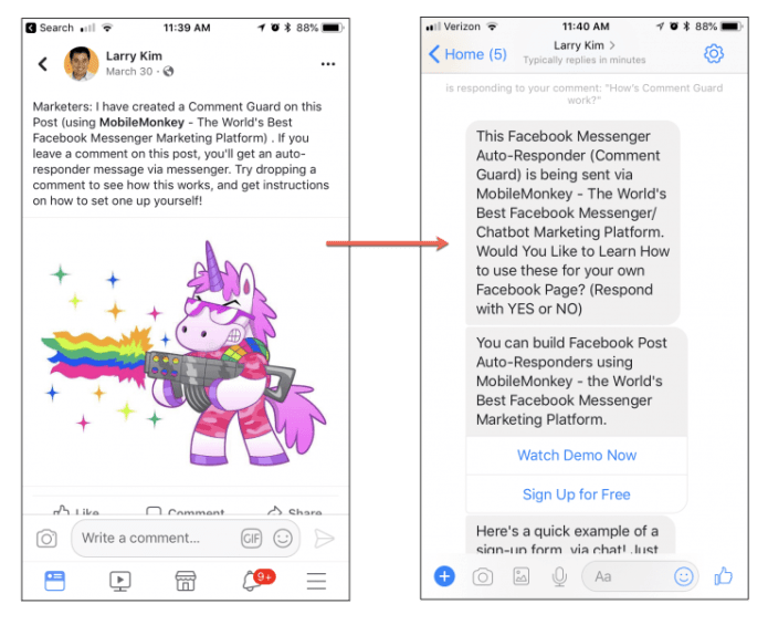 Grow Your Messenger Contact List with Facebook Post Autoresponders