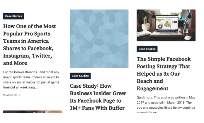 Buffer Case Studies