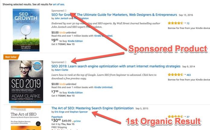 Sponsored Product Ads on Amazon