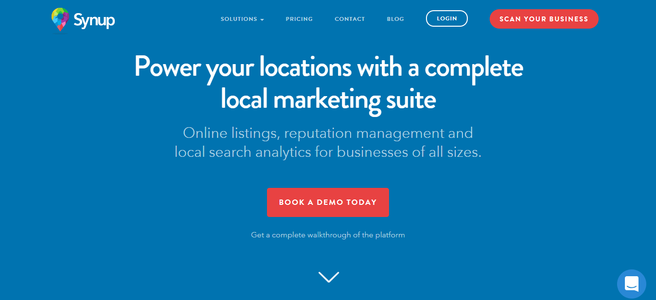 Local SEO Tools - Synup