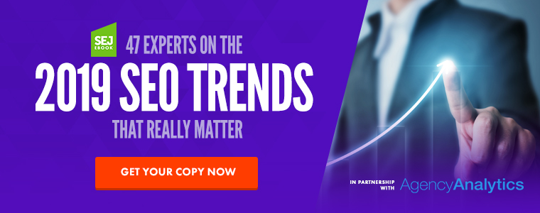 Download SEO Trends 2019 Now