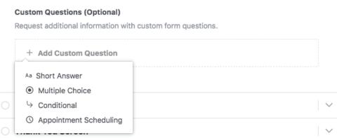 Facebook Lead Gen Ads - Custom Questions