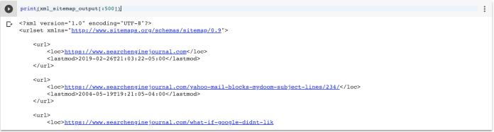 Reorganizing XML Sitemaps with Python for Fun & Profit