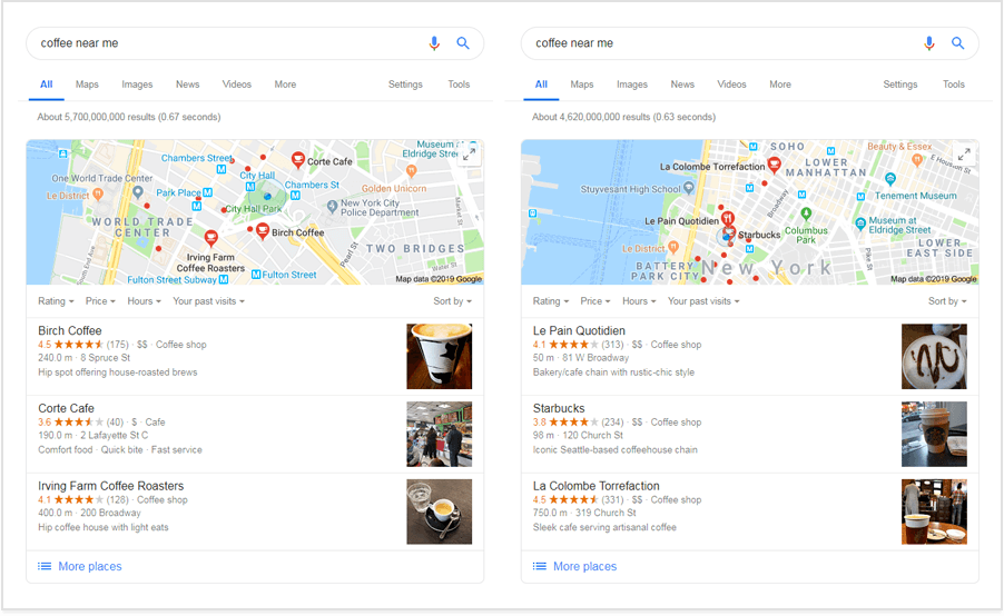How You Can See Google Search Results for Different Locations
