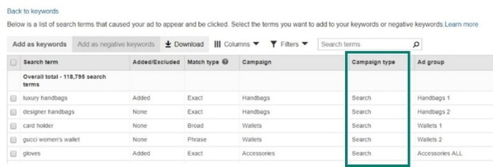 Bing Ads Improves Search Term Reporting