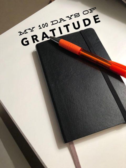 My 100 Days of Gratitude