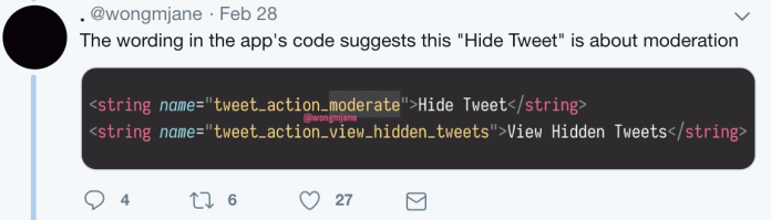 Twitter to Let Users Hide Replies to Their Tweets