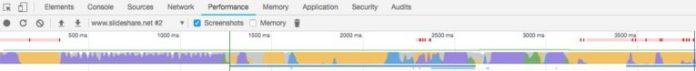 Chrome DevTools Performance screenshot