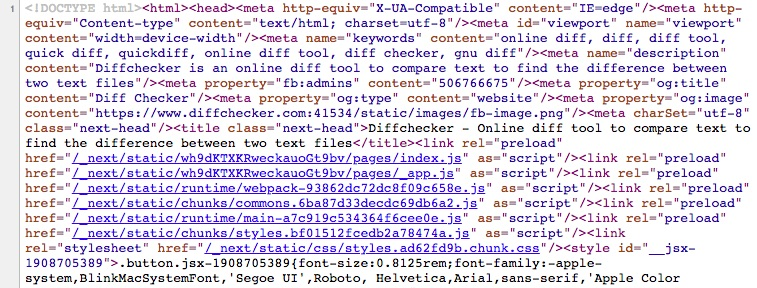 Source code screenshot