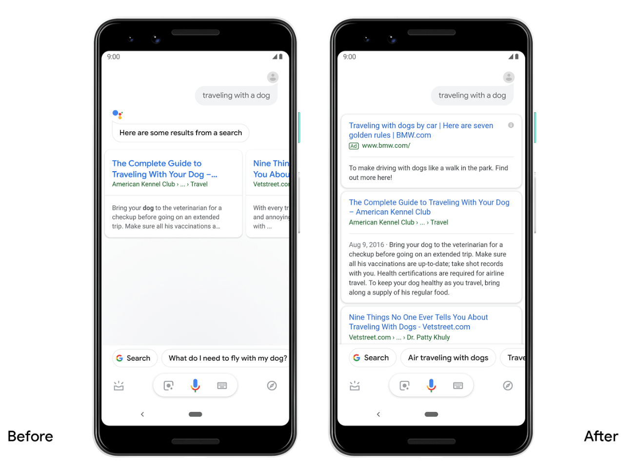 Google Assistant to Return More Detailed Search Results on Android