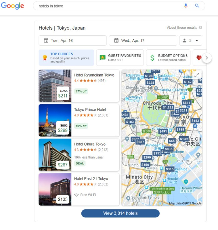 How Search Engines Display Search Results