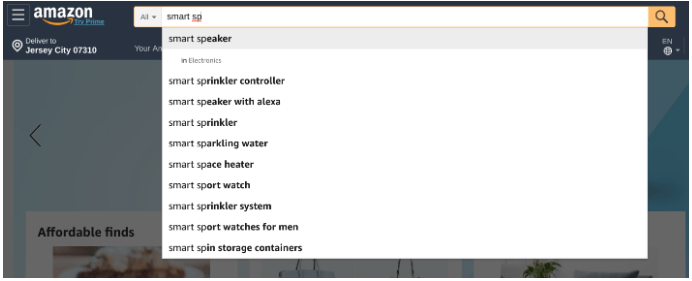 Amazon-Autosuggest