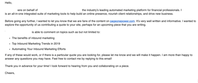 How to Build Links via Non-Traditional Email Outreach