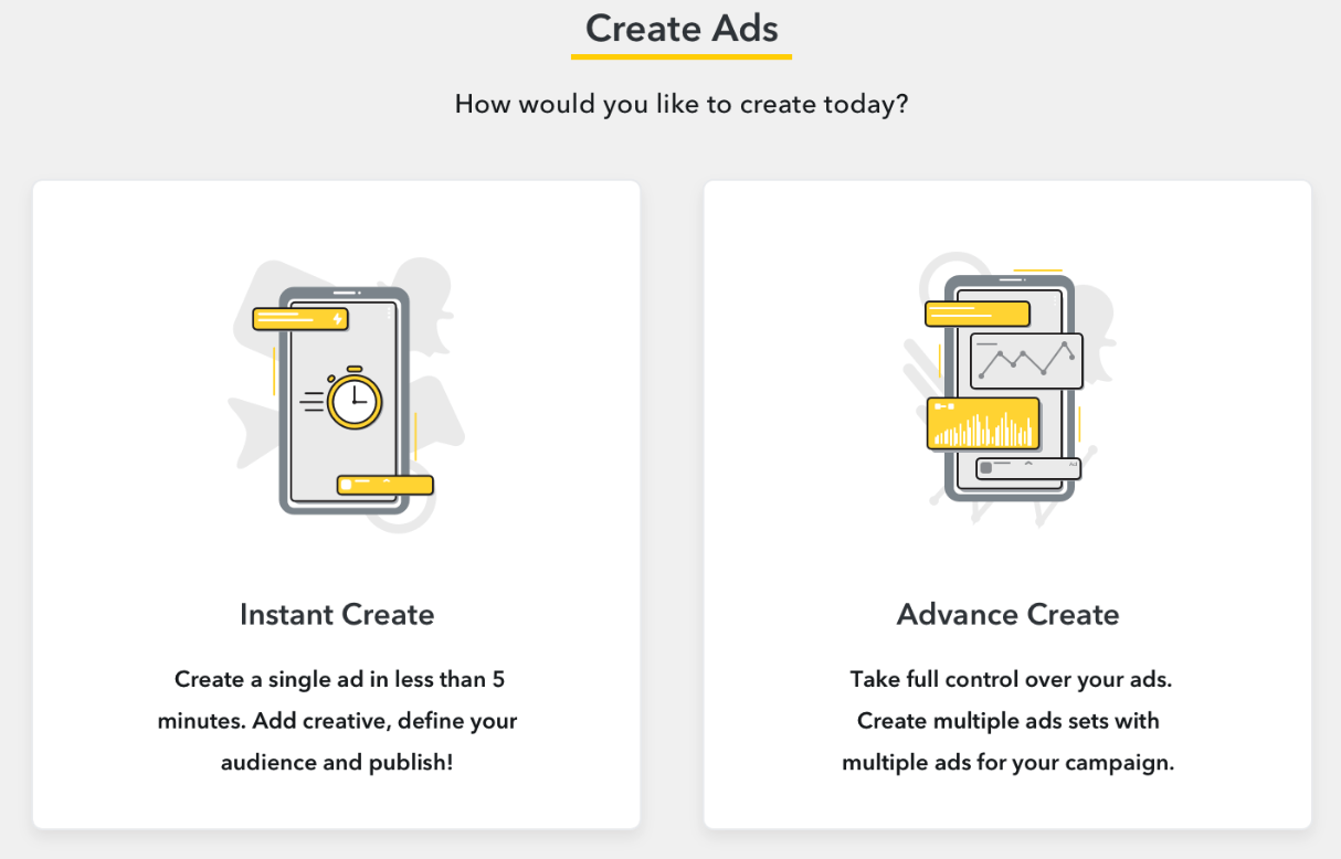 Snapchat Introduces a 3-Step Ad Creation Tool