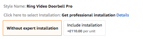 Amazon Product Variation Installation