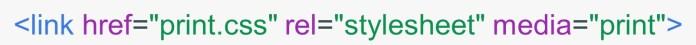 Example CSS Media Query