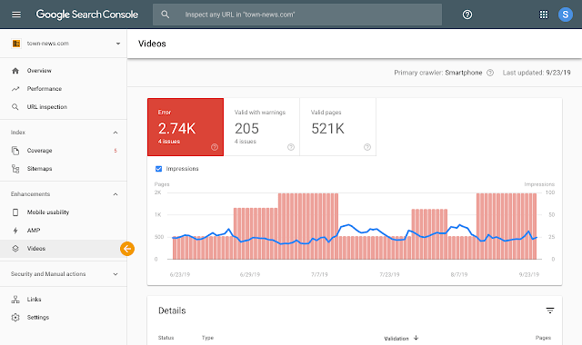 Google Search Console Adds New Reports for Video Search Results