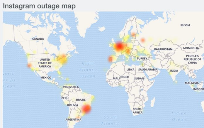 Facebook and Instagram Go Down Across the World on Thanksgiving Day