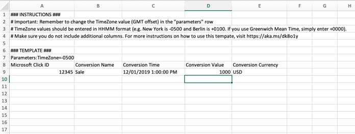 Formatting Excel Doc
