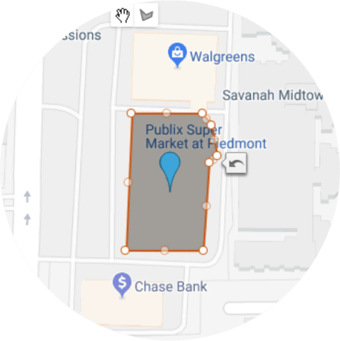 geofencing example