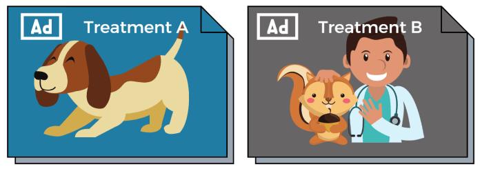 2 ad treatments