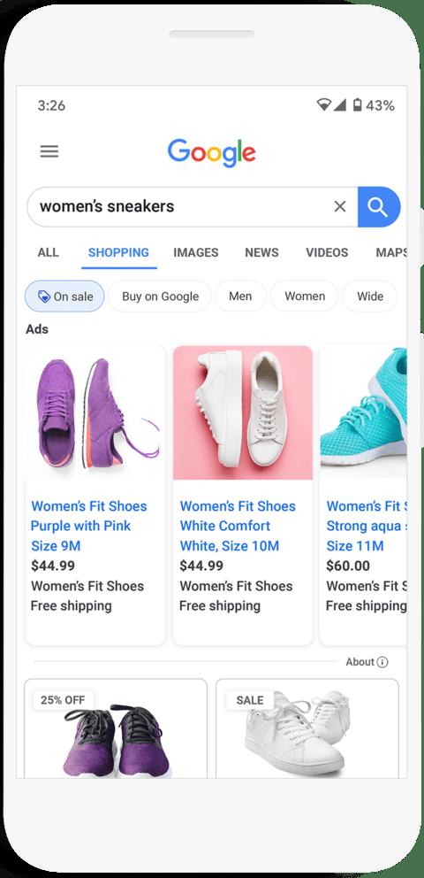 ستسلط Google الضوء على أفضل صفقات التسوق في نتائج البحث
