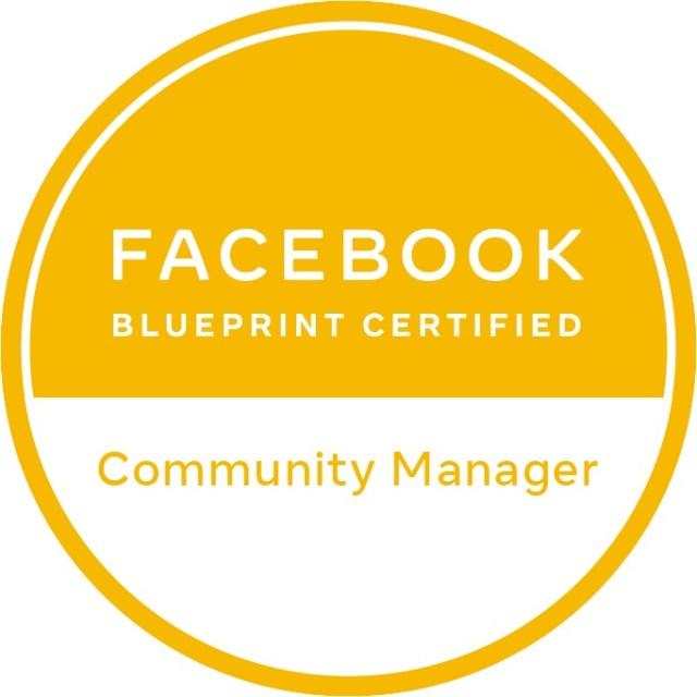 برنامج شهادة Facebook Community Manager