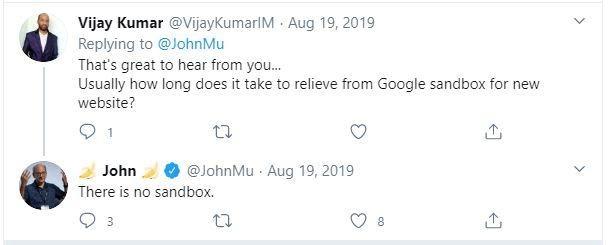 Tweet answering domain age