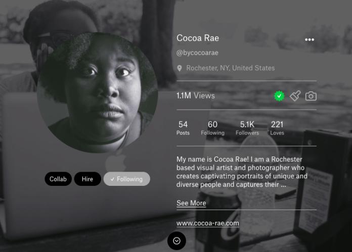 Cocoa Rae found success on alternative social network Ello