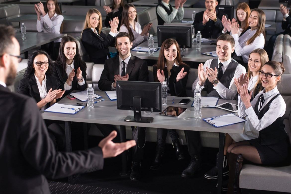 Practice your public speaking engagement in the venue ahead of time.