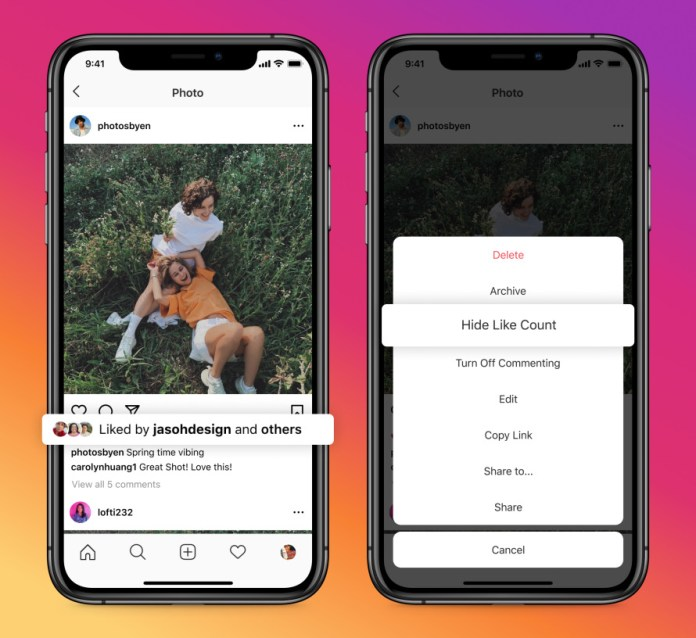 Facebook & Instagram Users Can Hide Their Like Counts