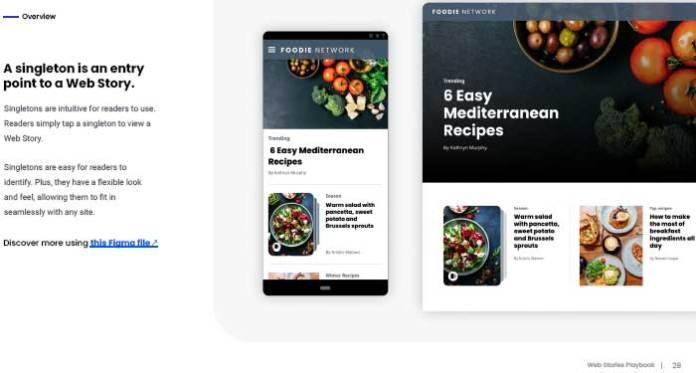 Screenshot of Web Stories Playbook