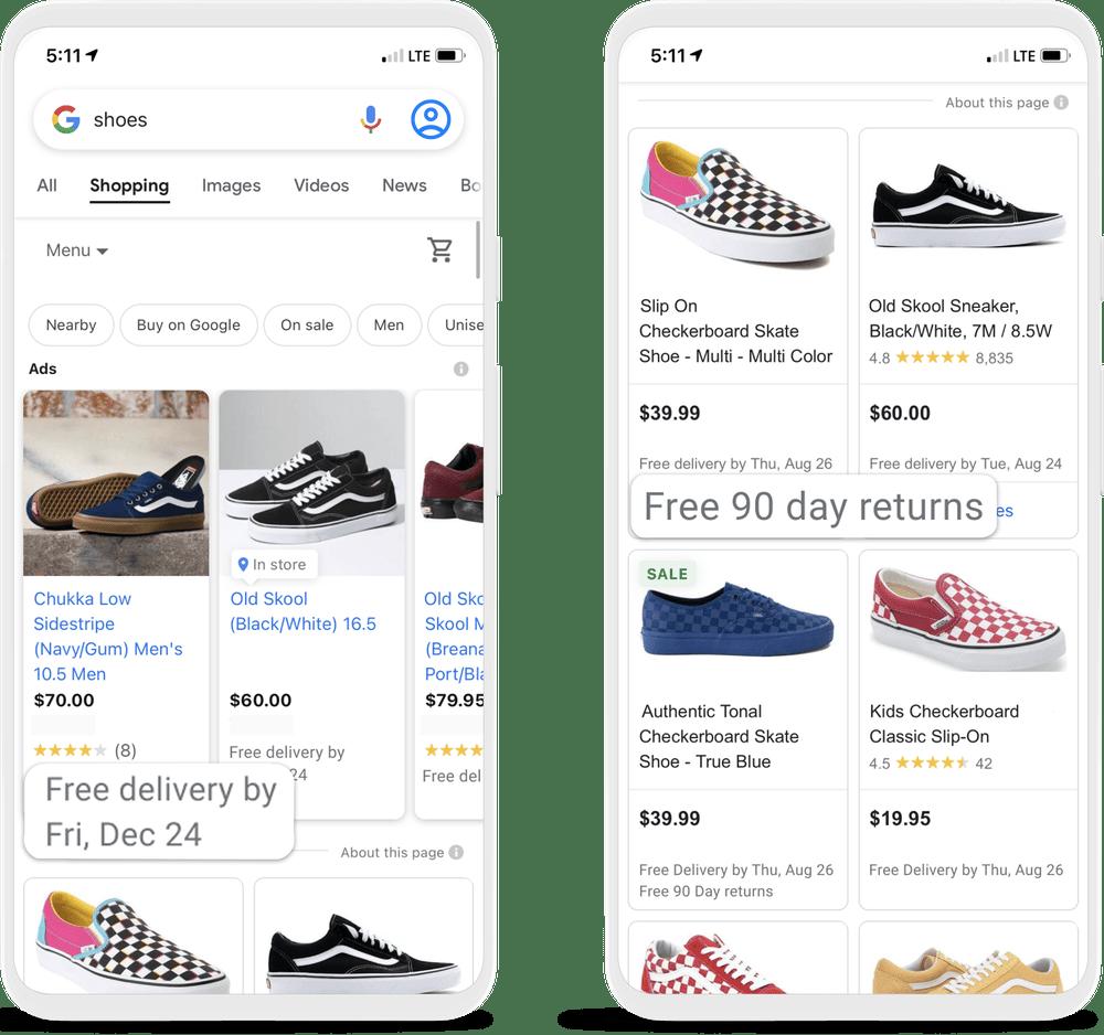 google shopping annotations