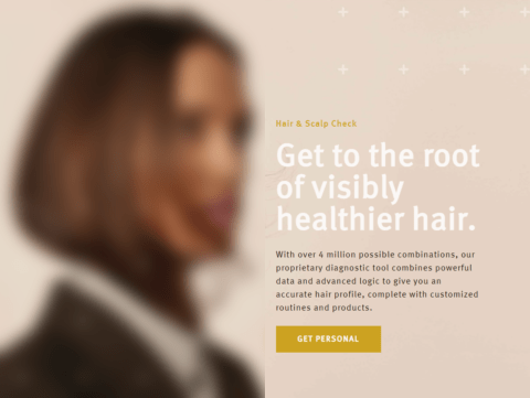 Aveda Creates an Interactive Experience by Using Quizzes and AI.