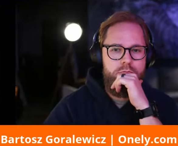 Screenshot of Bartosz Goralewicz