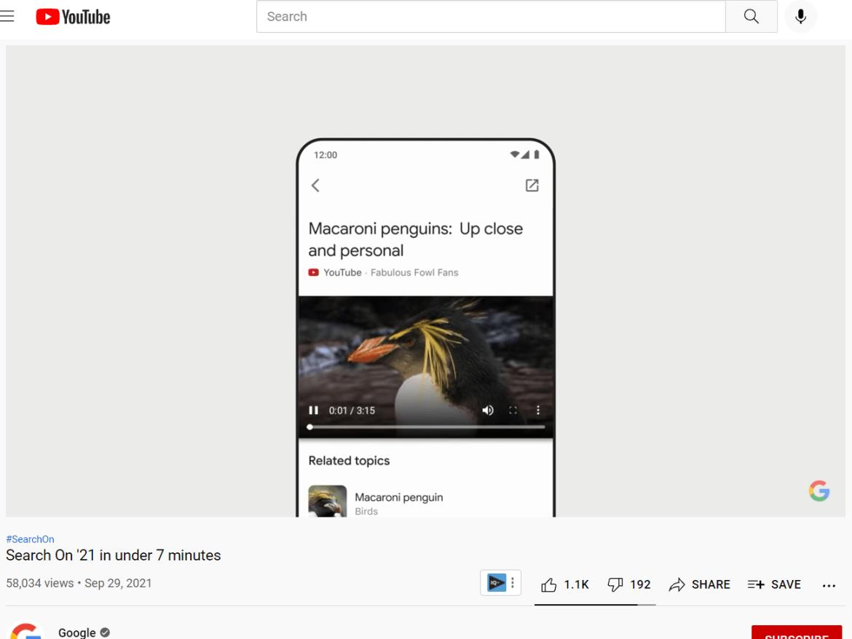 YouTube related topics.