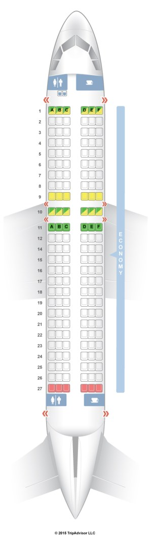 SeatGuru Seat Map CEBU Pacific Air Airbus A319 (319)