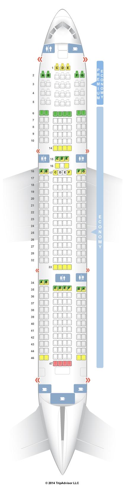 Boeing 767 300 Seat Map Latam Wallseat Co