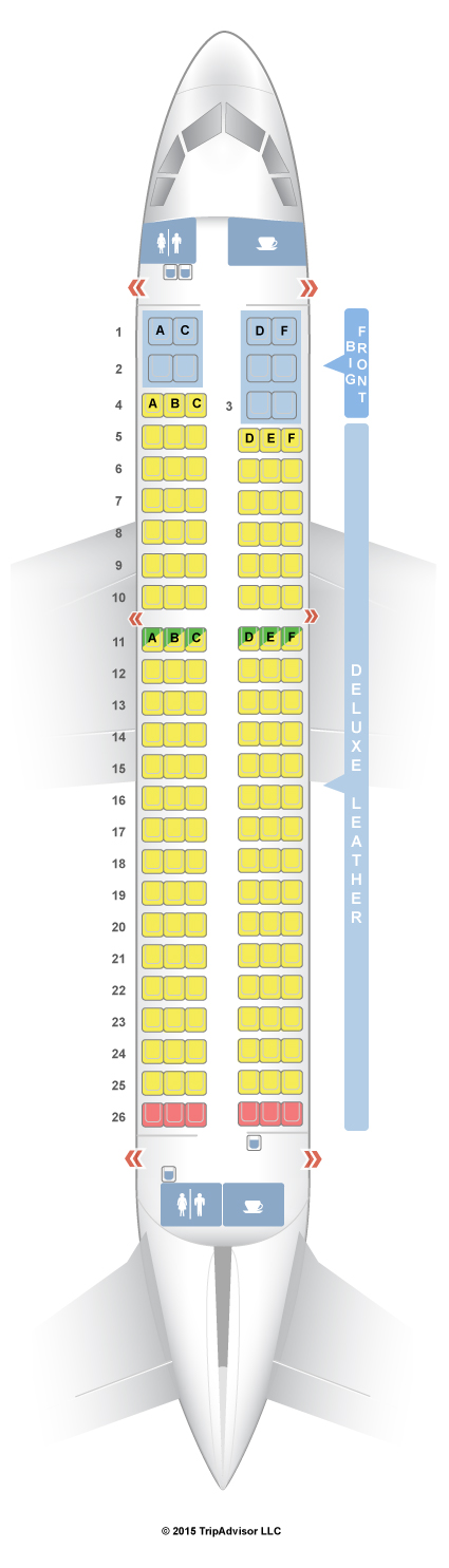 Frontier Airlines Seating Chart Airbus A321