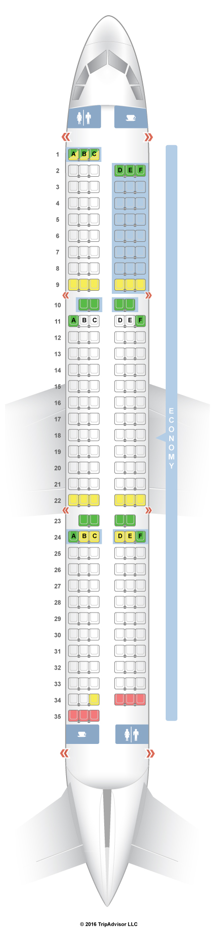 Seat Guru Air Nz Brokeasshomecom - Us airways a321 seat map