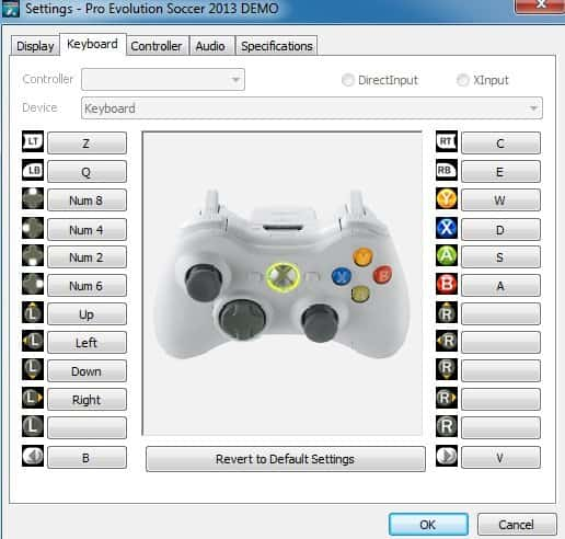 PES 2013 Controls Guide How To Customize PC And