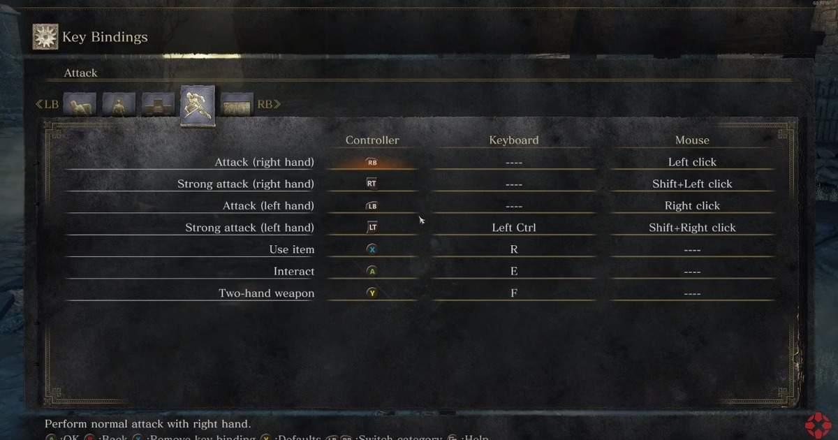Dark Souls 3 Graphics Settings Keybindings Revealed