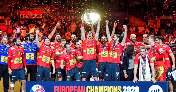 Гандбол Испания выиграла чемпионат Европы у Хорватии Фото ...