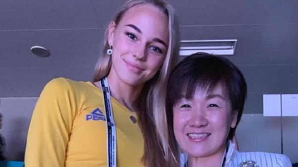 Дарья Белодед встретилась со своим кумиром - фото и ...