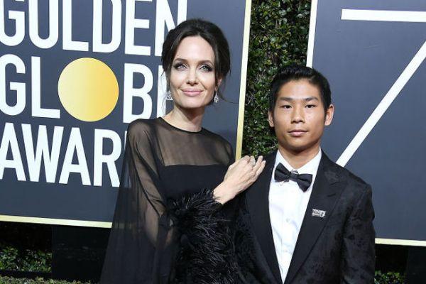 Анджелина Джоли поссорила применого сына с Брэдом Питтом ...