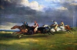1821 Epsom Derby. Illustration: Wikipedia.